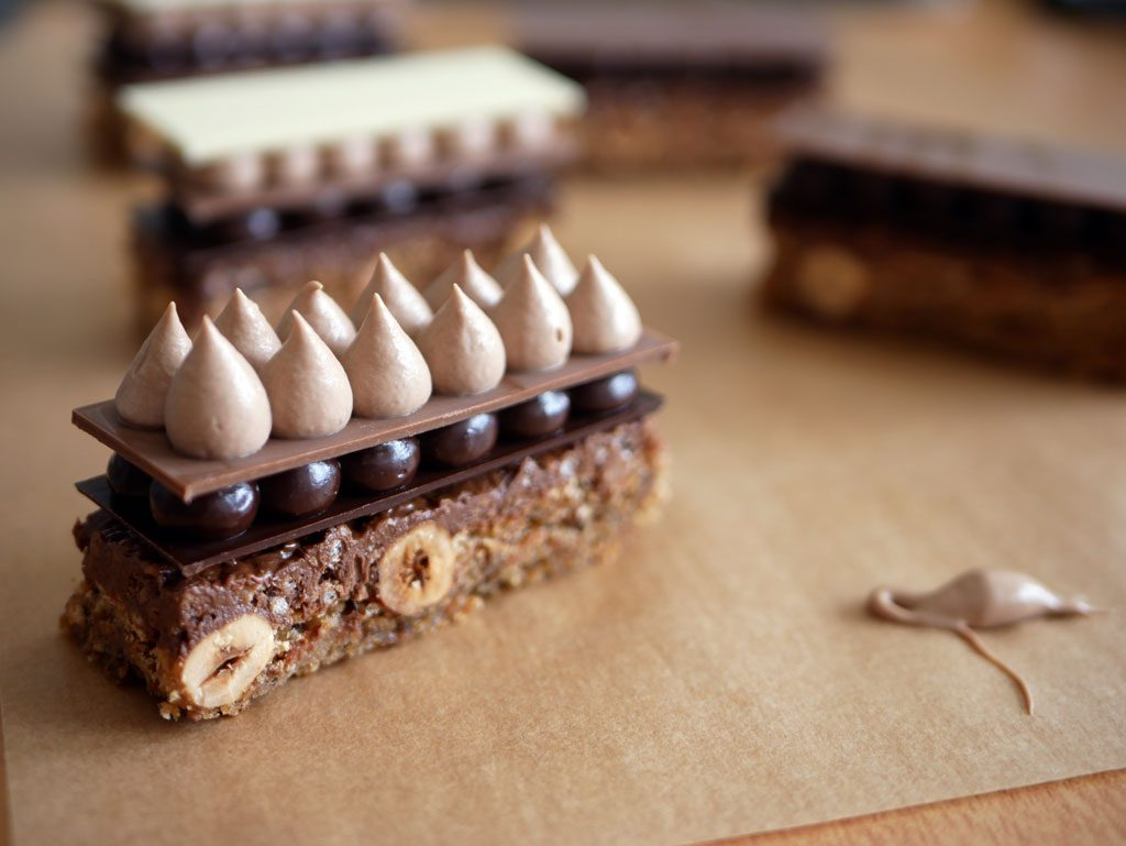 שנטילי שוקולד חלב - פלזיר סוכרה