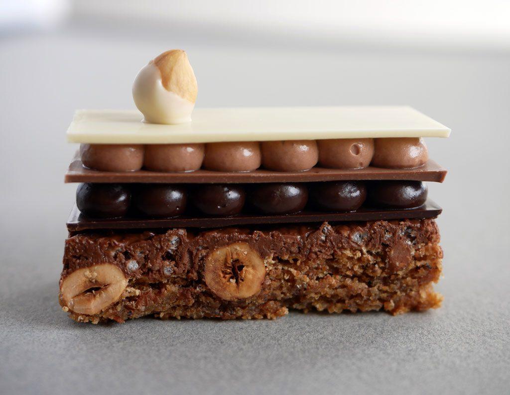 פלזיר סוכרה בשלושת השוקולדים