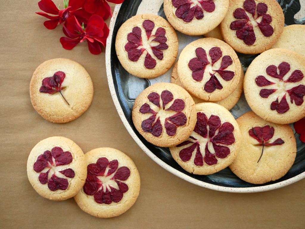 עוגיות פרח