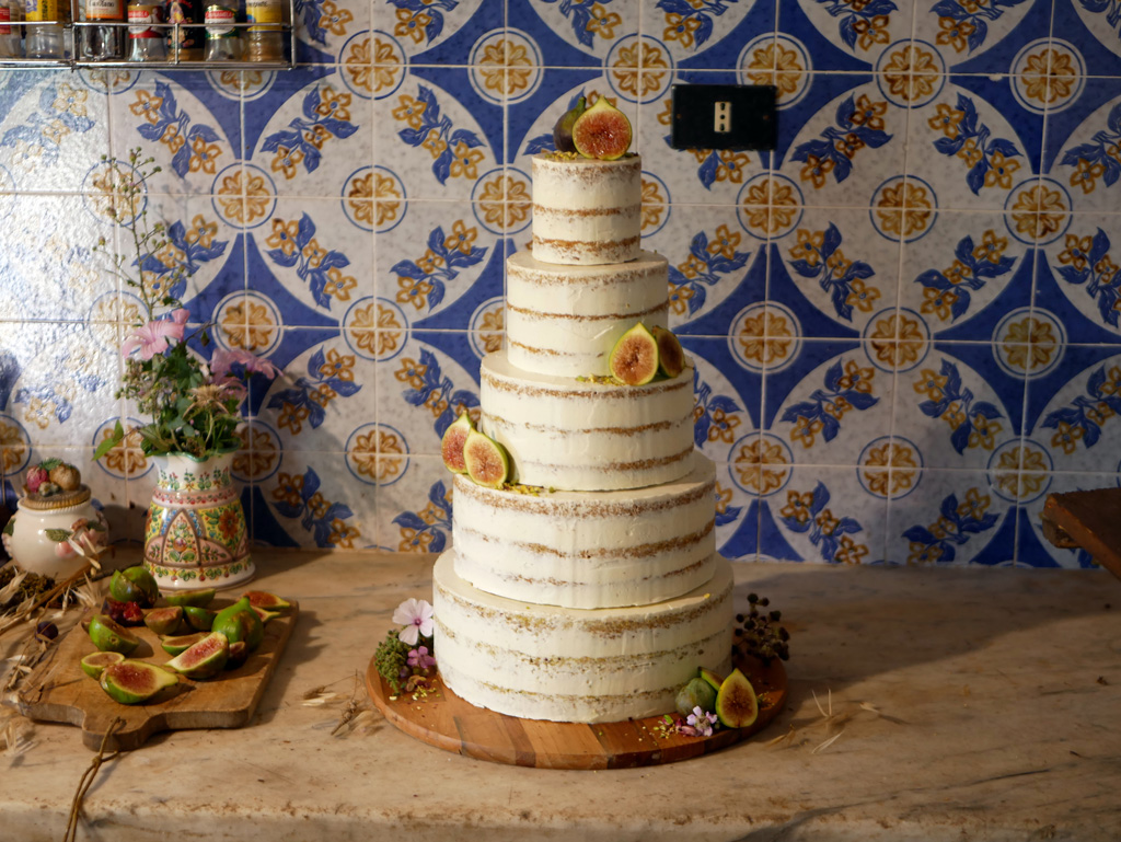 Ilana & Romy's Wedding Cake