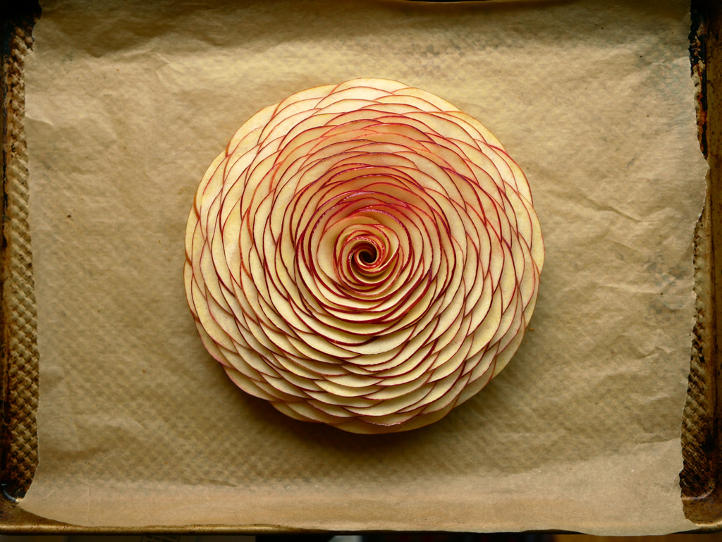 Cedric Grolet apple tart