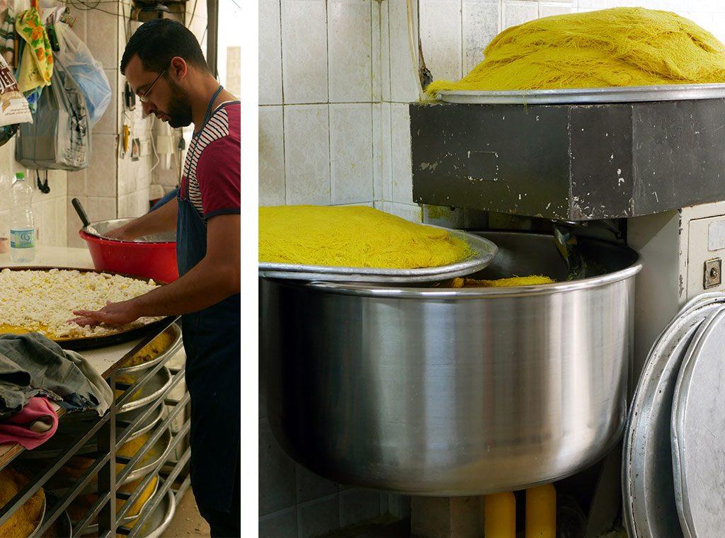 Al-Aqsa knafeh factory