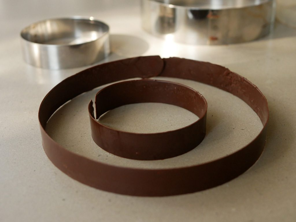 Chocolate rings