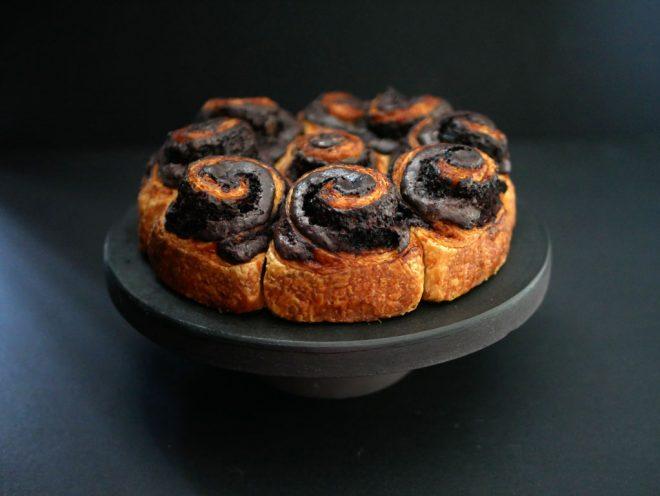 עוגת שושנים קקאו