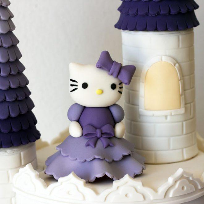 Princess Hello Kitty - Cake Lab
