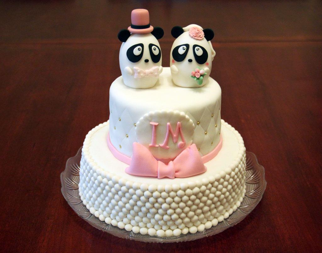 My cousin's wedding cake