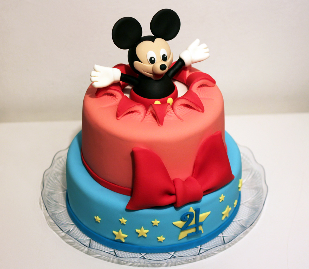 Surprise Mickey Mouse!