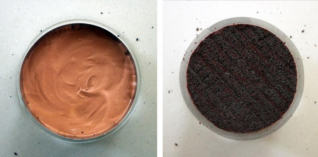 הרכבת עוגת שוקולד