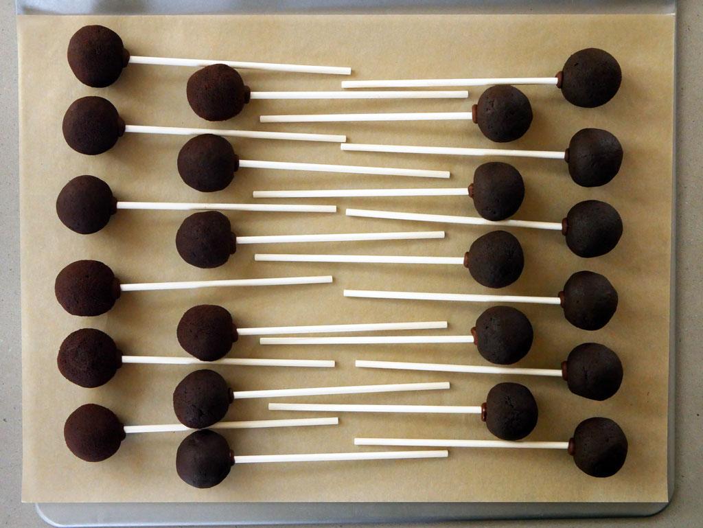 קייק פופס שוקולד