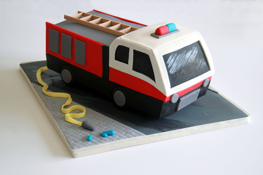 Yoav's fire truck