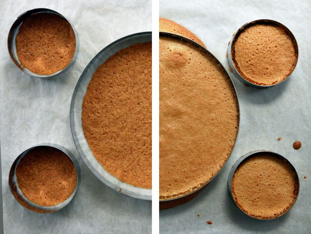 Hazelnut Cake after baking