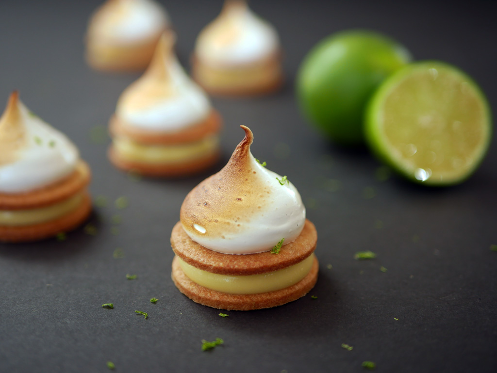 Lime Meringue Cookies