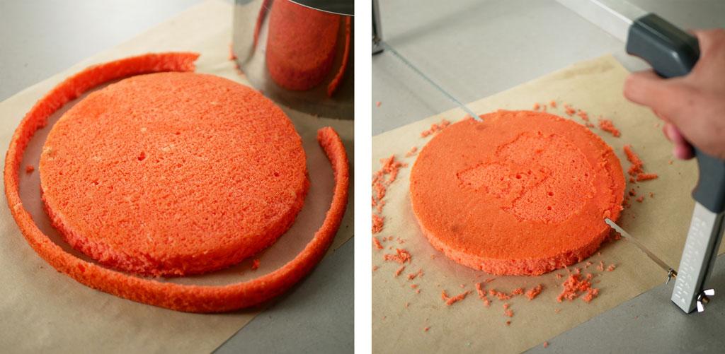 חיתוך העוגה