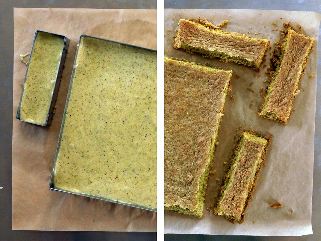 pistachio biscuit