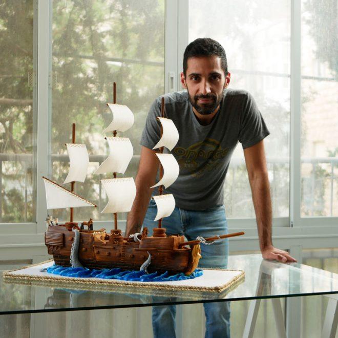 Pirate ship cake & me