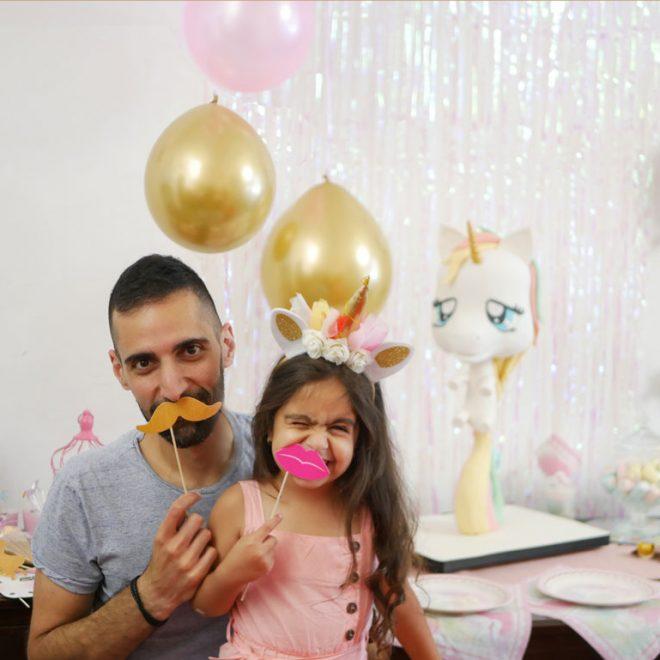 Aline, the unicorn & me