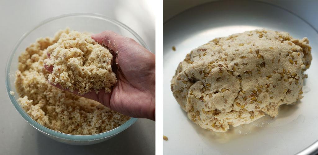 הכנת עוגת חילבה