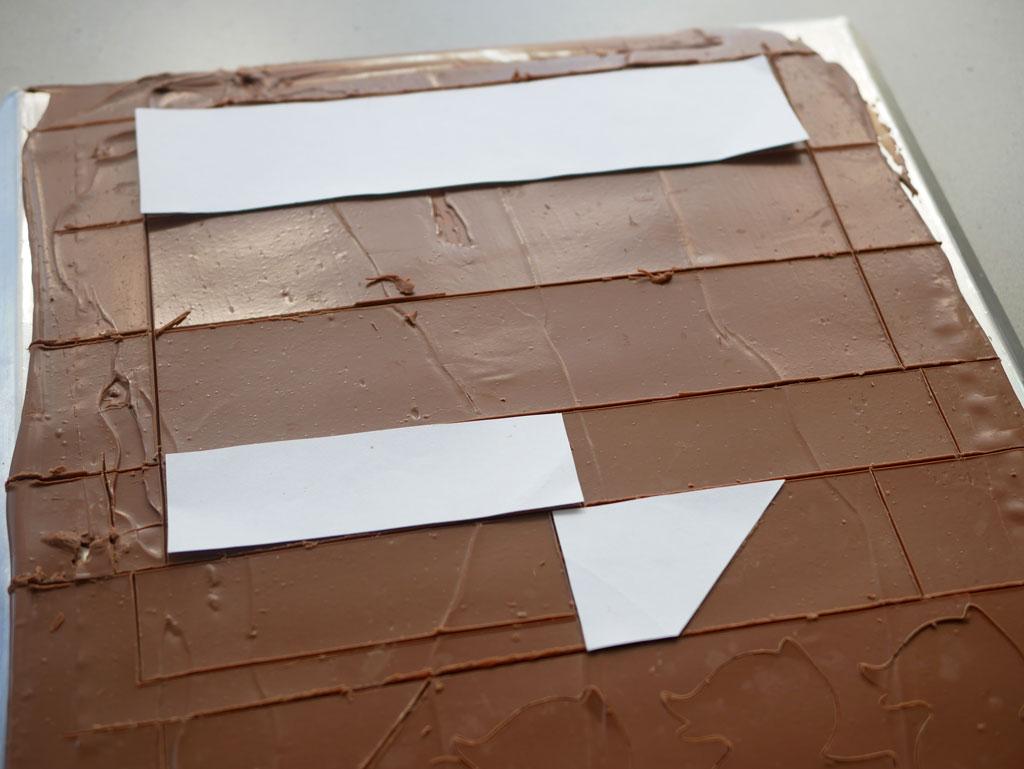 טמפרור שוקולד חלב