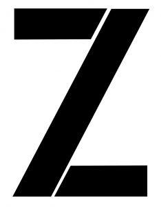 האות Z