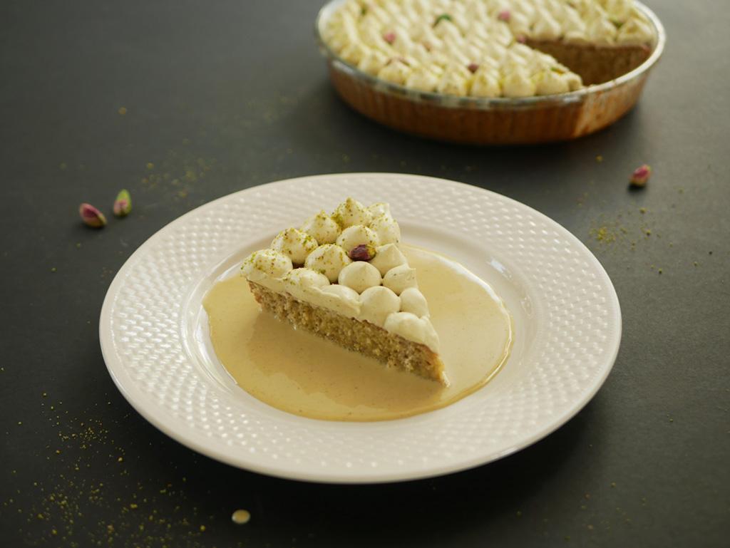 עוגת טרס לצ'ס פיסטוק